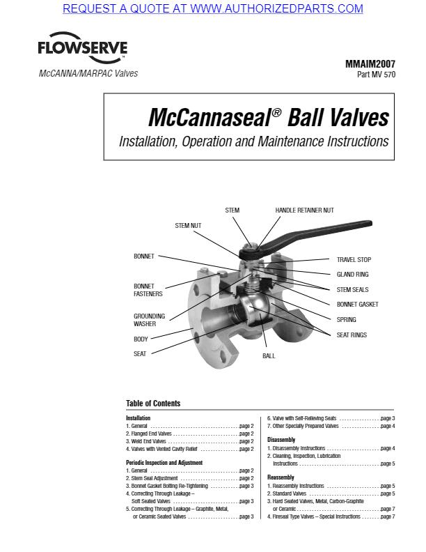 McCannaSeal Repair Procedures