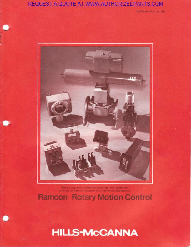 Ramcon Quarter Turn Actuators