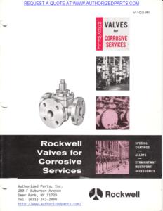 Rockwell Alloy Plug Valves