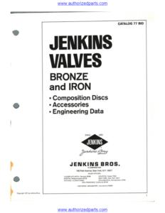 Jenkins Bronze and Iron Master Catalog pdf image