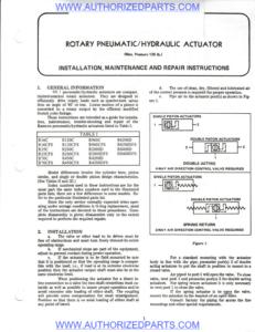 Ramcon Air Actuators